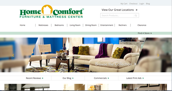 Portfolio david brown developer designer content writer Home comfort furniture outlet raleigh nc